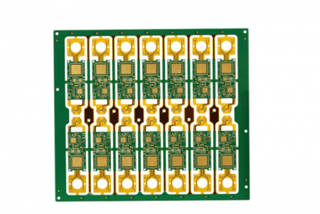 12 layer rigid flex pcb with ENIG
