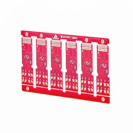 2 LAYERS HIGH FREQUENCY PCB WITH ROGERS MATERIAL