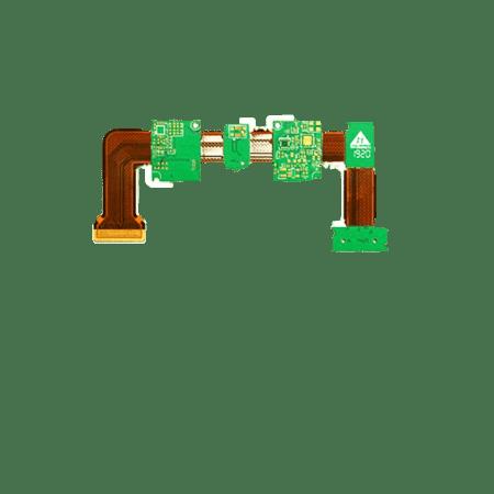 8L rigid flex PCb