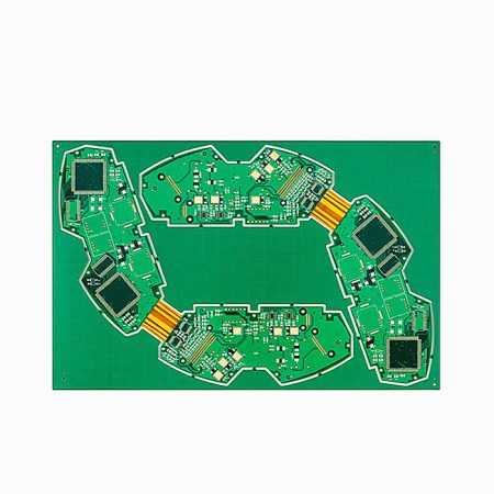 10 layer rigid flex PCB prototype by XPCB