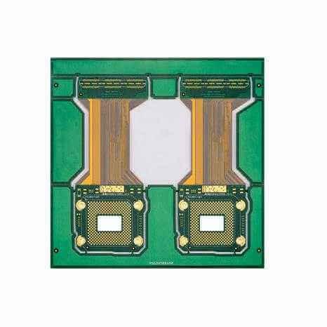 6 layer rigid flex PCB by XPCB Ltd