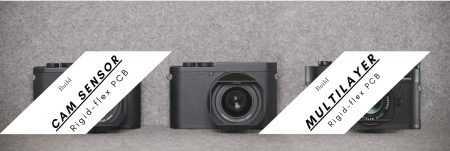 camera rigid flex pcb board