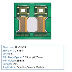 5 layer rigid flex PCB