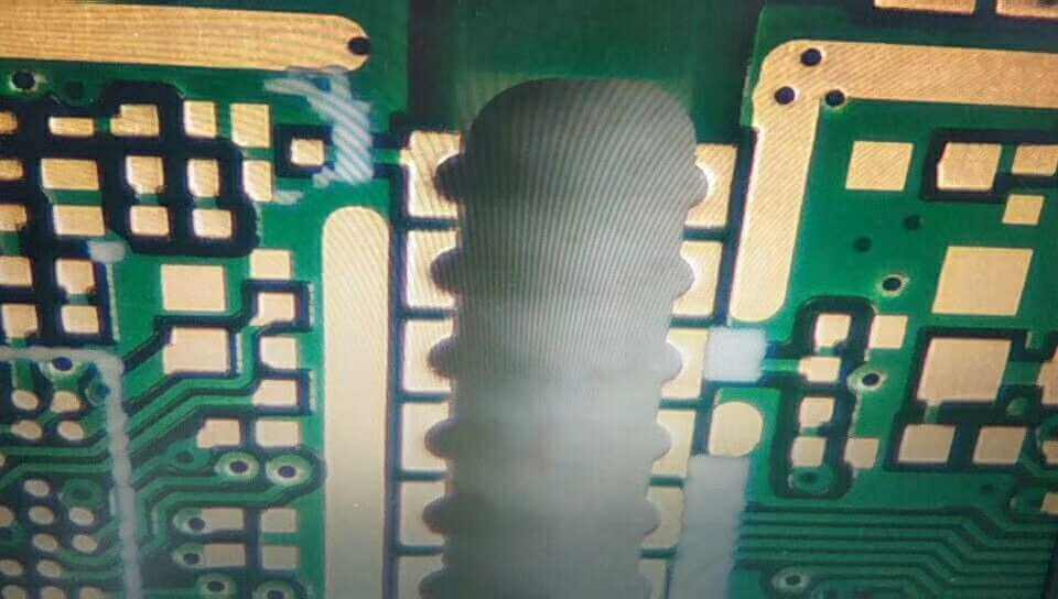 half hole PCB