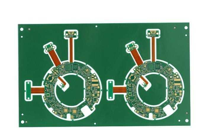 6 layer HDI rigid flex PCB