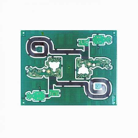 2 layer high quality HDI rigid flex PCB with 2 tier