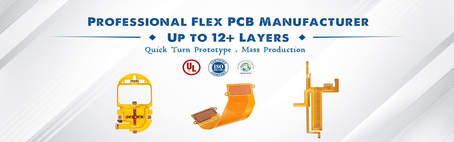 flexible printed circuit board manufacturer up to 12 layers